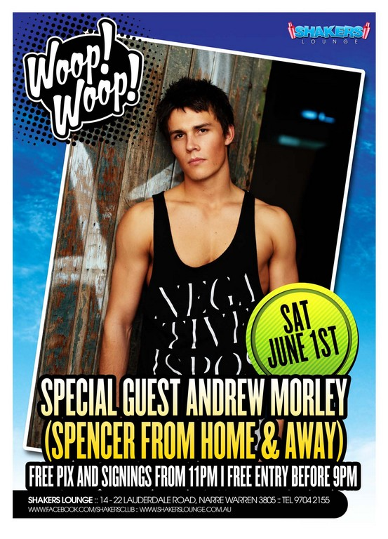 Andrew Morley, Spencer from Home & Away