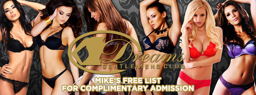 Dreams Gentlemen's Club Open in Melbourne CBD. Mike's Free List for Complintary Admission.