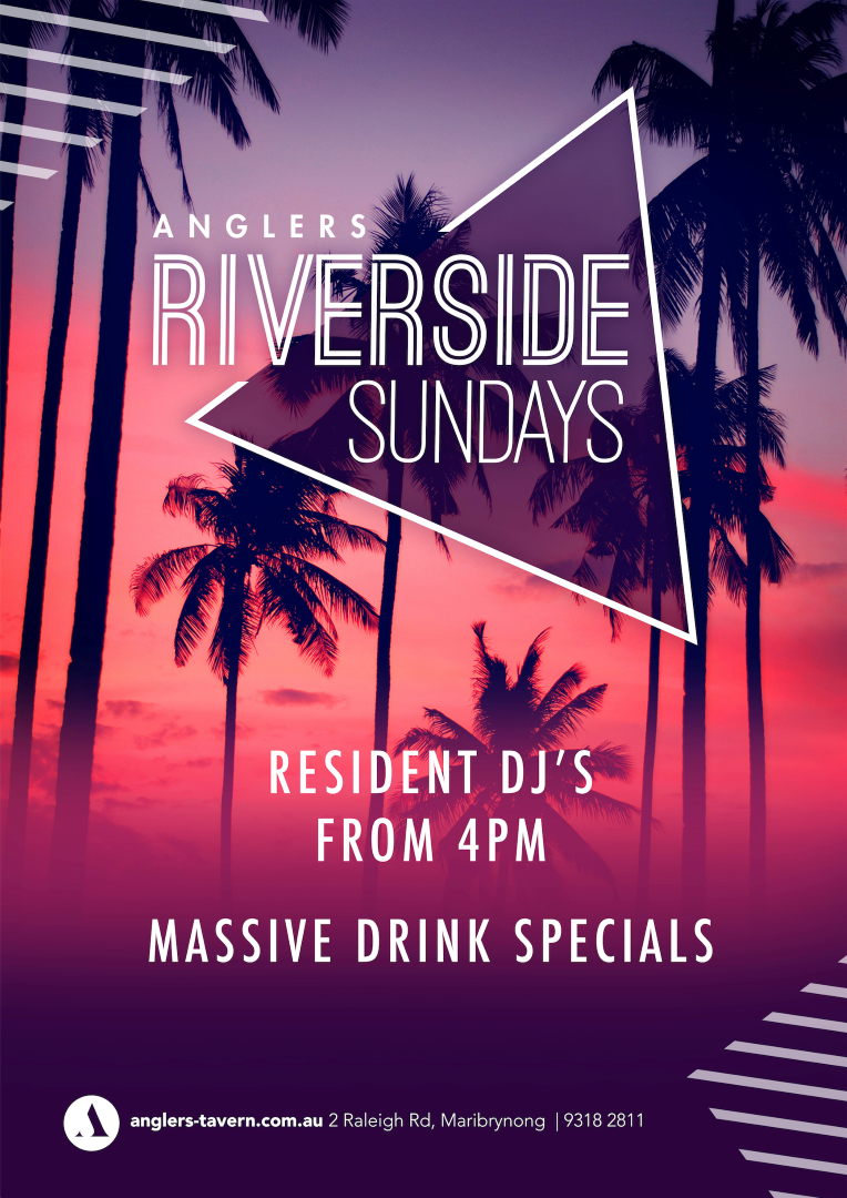 Riverside Sundays at Anglers Tavern